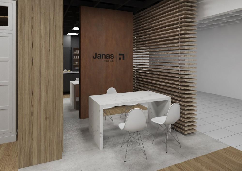 JAN_wnętrza showromu Domar