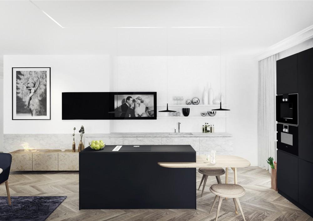VC2_Wnętrza apartamentu w Poznaniu
